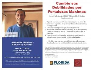 Presentación MAT en FSHCC - Florida
