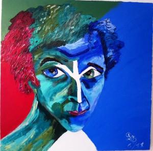 Marc Chagall Portrait by Preciada Azancot