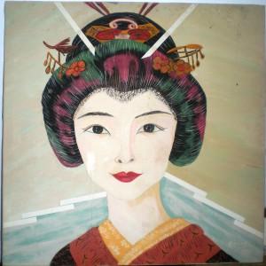 Mujer japonesa - Preciada Azancot