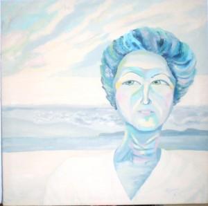 Retrato mujer -Preciada Azancot